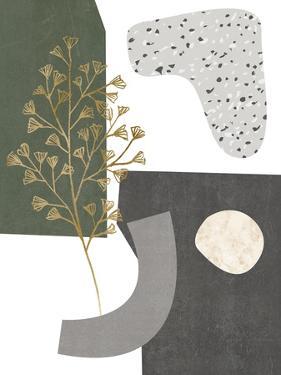 Gold Ginkgo II by Melissa Wang