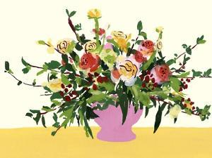 Grand Bouquet II by Melissa Wang