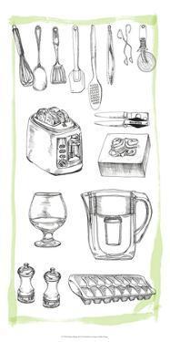 Kitchen Display II by Melissa Wang