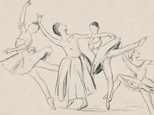 La Ballerine I by Melissa Wang