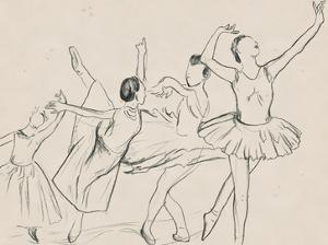 La Ballerine II by Melissa Wang