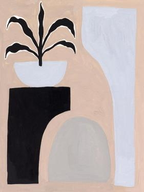 Pale Abstraction I by Melissa Wang