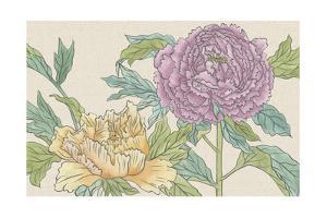 Peony Blooms III by Melissa Wang