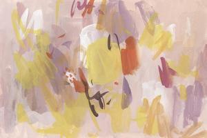 Pink Abstraction I by Melissa Wang