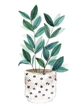 Plant in a Pot I by Melissa Wang