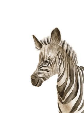 Safari Animal Portraits IV by Melissa Wang