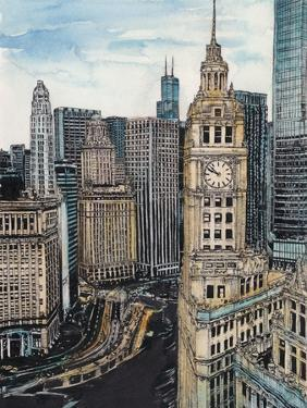 US Cityscape-Chicago by Melissa Wang