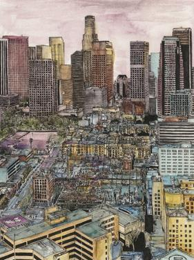 US Cityscape-Los Angeles by Melissa Wang