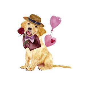 Valentine Puppy V by Melissa Wang