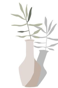 Vase & Stem III by Melissa Wang