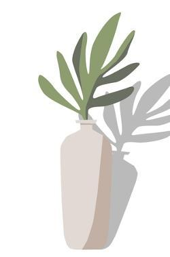 Vase & Stem VI by Melissa Wang