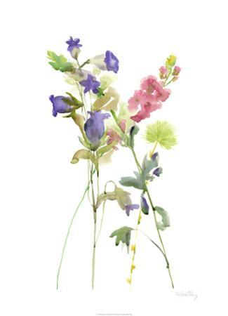 Watercolor Floral Study IV by Melissa Wang