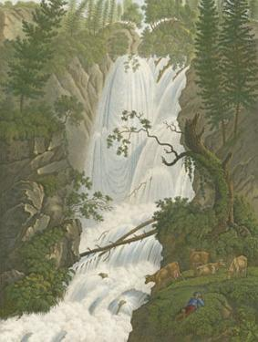Tranquil Cascade I by MELLING