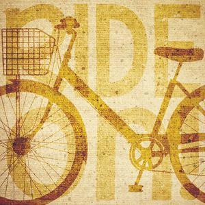 Bike Canvas 2 by Melody Hogan