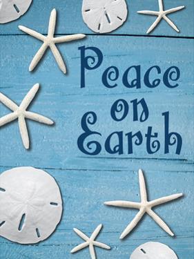 Coastal Christmas Sand Dollars 1 by Melody Hogan