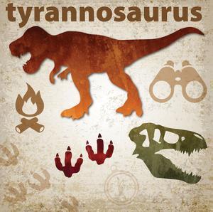 Dinosaur by Melody Hogan