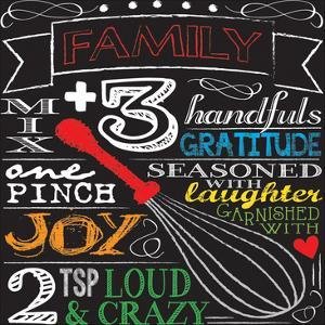 Family Plus Three by Melody Hogan