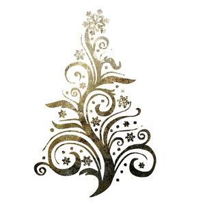 Glimmer Trees 2 by Melody Hogan