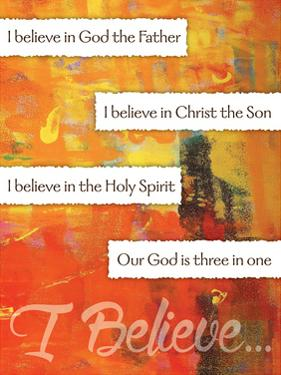 I Believe Confirmation 4 by Melody Hogan