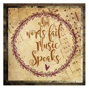 Music Speaks by Melody Hogan