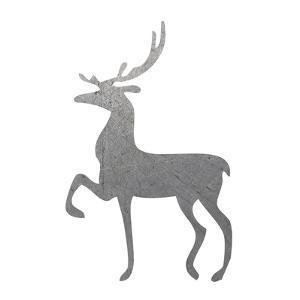 Silver Deer 2 by Melody Hogan