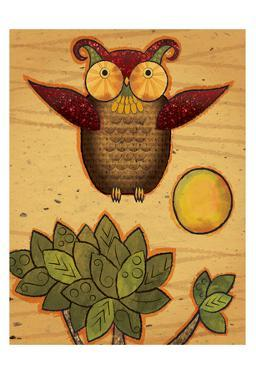 Texture Owls 04 by Melody Hogan