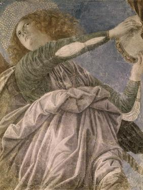 Music Making Angel with Tambourine by Melozzo da Forlí