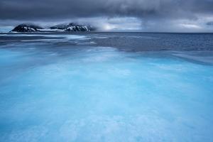 Melting Pack Ice, Svalbard, Norway