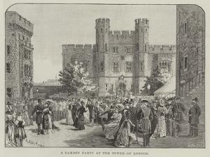 A Garden Party at the Tower of London by Melton Prior