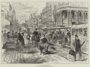 Collins-Street, Melbourne by Melton Prior