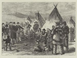 Excitement Among North American Indians by Melton Prior