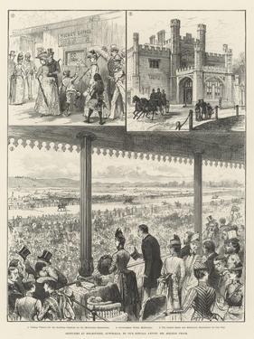 Sketches at Melbourne, Australia by Melton Prior