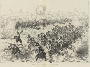 Storming the Trenches of Tel-El-Kebir by Melton Prior