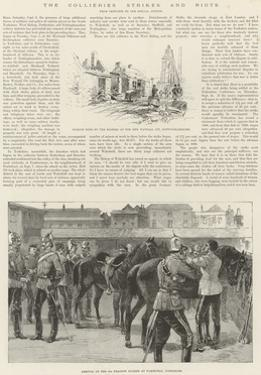 The Collieries Strikes and Riots by Melton Prior