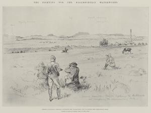 The Fighting for the Bloemfontein Waterworks by Melton Prior