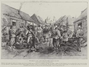 The Germans in China, Scene in the Main Street, Tsingtau, Kiao-Chau by Melton Prior