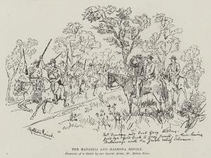 The Matabili and Mashona Revolt by Melton Prior