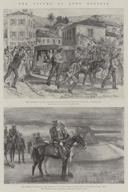 The Return of Lord Roberts by Melton Prior