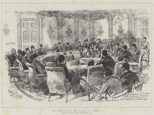 The Turkish Crisis, the Tribunal at Stamboul by Melton Prior