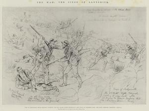 The War, the Siege of Ladysmith by Melton Prior
