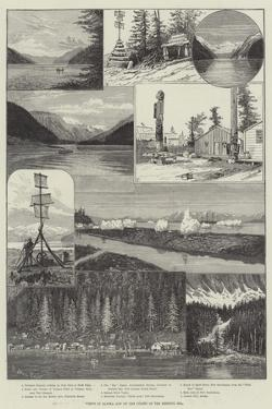 Views in Alaska and on the Coasts of the Behring Sea by Melton Prior