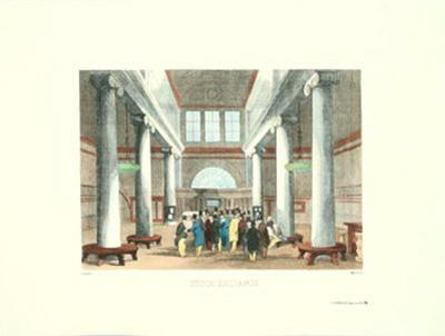 Stock Exchange by Melville Gilbert