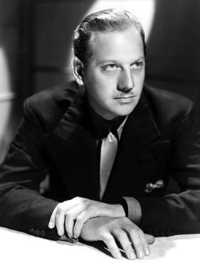 Melvyn Douglas, Ca. Late 1930s