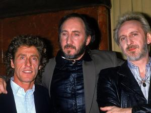Member of the Who: Roger Daltrey, Pete Townshend and John Entwistle