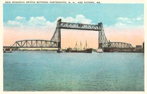 Memorial Bridge, Portsmouth, New Hampshire