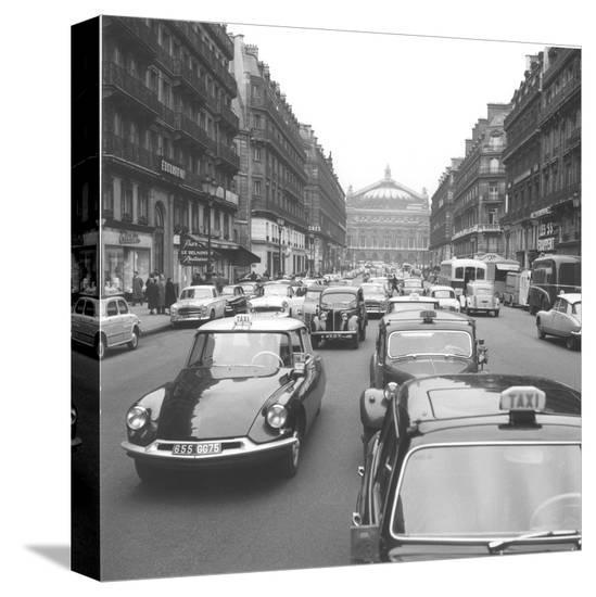 Memories of Paris-Paul Almasy-Stretched Canvas Print