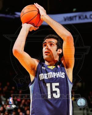 Memphis Grizzlies - Hamed Haddadi Photo