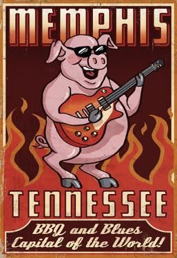Memphis, Tennessee - Guitar Pig