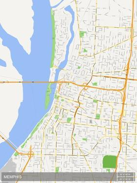 Memphis, United States of America Map