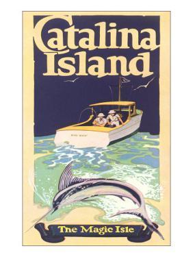 Men Fishing, Catalina Island
